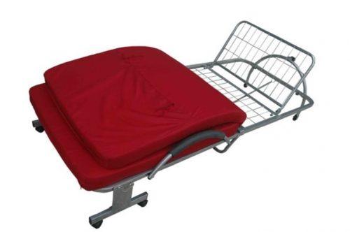 ranjang apartemen kos lipat besi folding bed