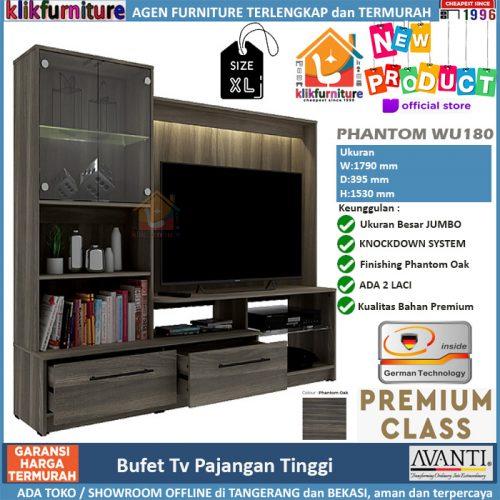 Bufet Lemari Tv Pajangan Hias PHANTOM WU 180