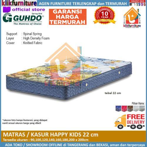 Matras / Kasur Happy Kids Anak 22cm Guhdo Springbed
