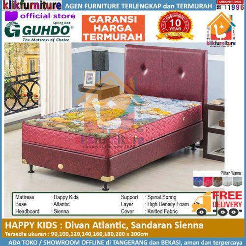 Happy Kids Divan Atlantic Headboard Sienna Guhdo Springbed